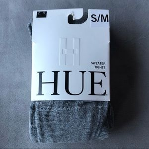 Hue Sweater Tights ~ Size S/M ~ Charcoal Heather